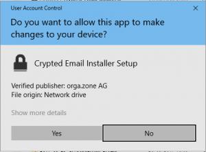 Verschlüsselung für Outlook